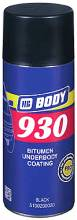 Σπρέι πίσσας HB BODY 930 Bitumen underbody coating (400 ml)